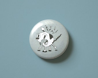 "Panic | 1.5"" Pinback Button"