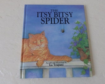 The Itsy Bitsy Spider, Hardcover Children's Book, Like New, 1993