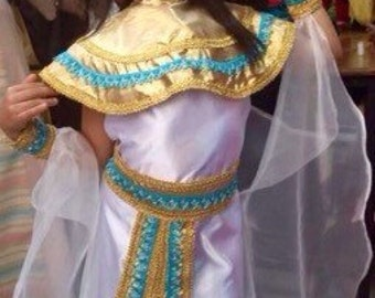 EGYPTIAN CLEOPATRA costume, egypt princess, CLEOPATRA costume, girls costume, egypt costume