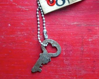 Vintage heart key Small heart key Old heart key Heart wedding key Simple heart key Love is the key Key to my heart Valentines Day key #6F