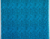 Turquoise blue and black ...