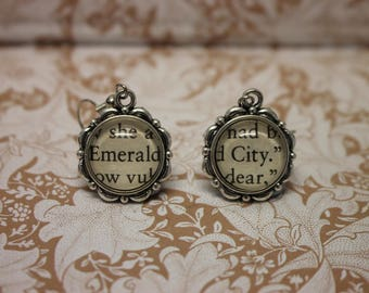 Emerald City Earrings ~ The Wizard Of Oz ~ Wicked ~