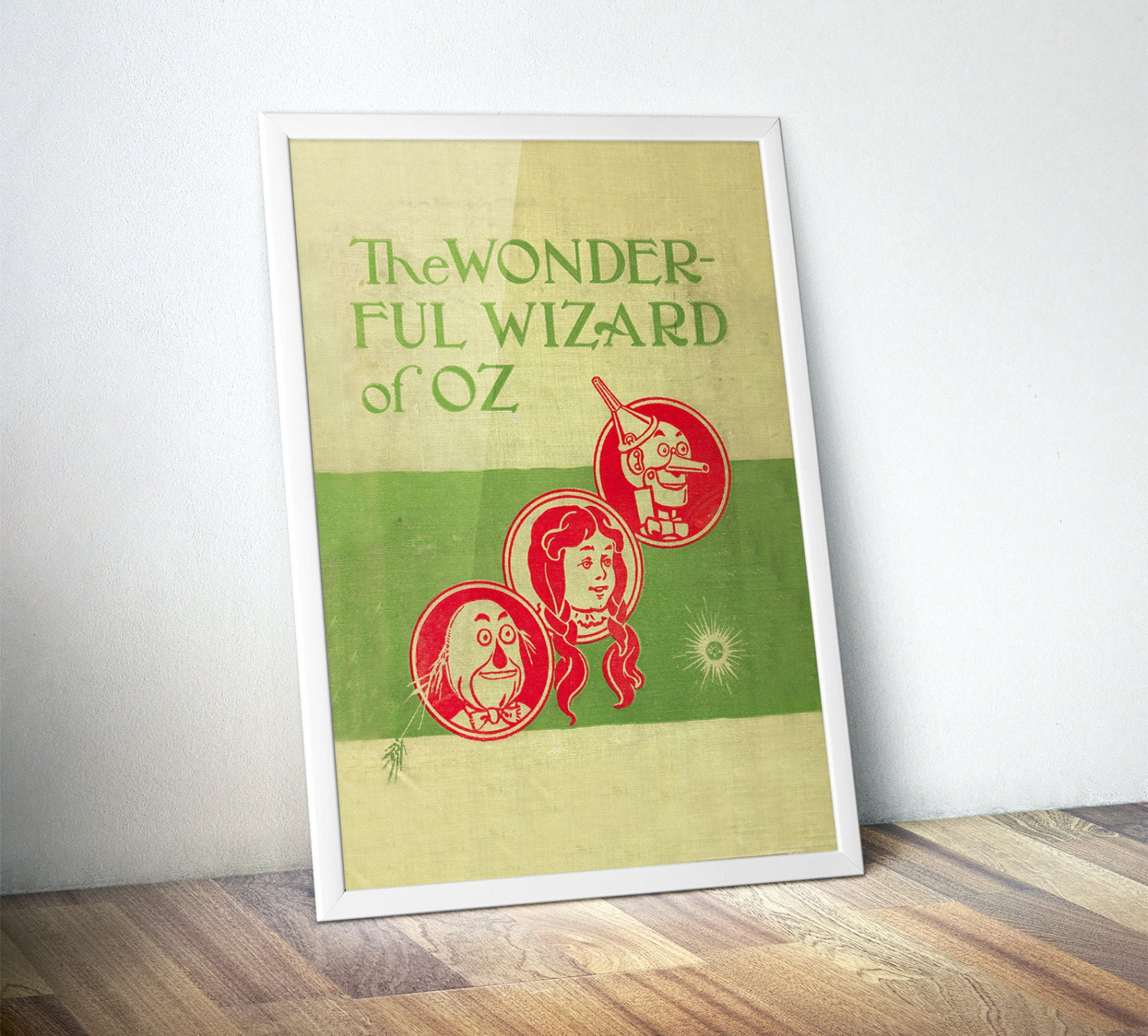 Wizard of Oz Print Literary Gifts Gifts for Writers Wizard