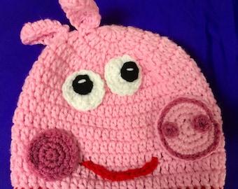 Peppa pig or George Pig Hat
