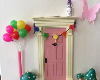 Fairy door birthday celebration - adorable!