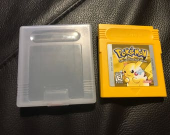 Pokemon Yellow Special Pikachu Edition (Gameboy Color, 1998) Vintage Video Game