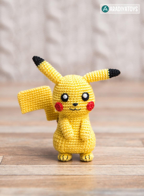 Crochet Pattern of Pikachu from \
