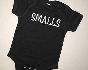 Smalls Shirt, Smalls Baby Onesie, Smalls Toddler Tee, Funny Kid's Shirts, Little Brother, Little Sister, Mommy and me, Daddy and me, Hipster