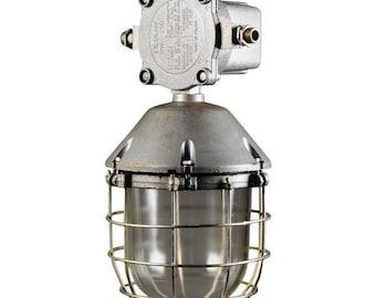 Vintage Large Factory Industrial Lamp