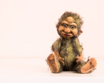 goblin toy creatures handmade toys handmade dolls author doll home goblin doll home toy troll toy troll collection toy art doll handmade
