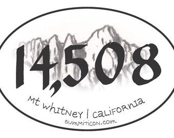 Mt Whitney Summit 14508