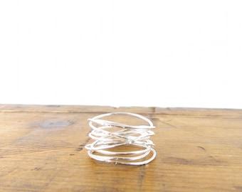 Sterling Vine Ring