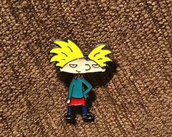 Hey Arnold hat pin