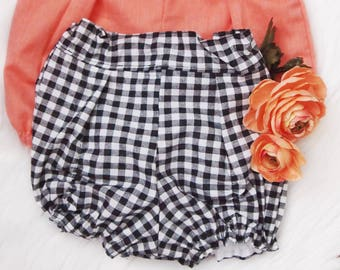 Gingham Bloomer shorts 12/18 months