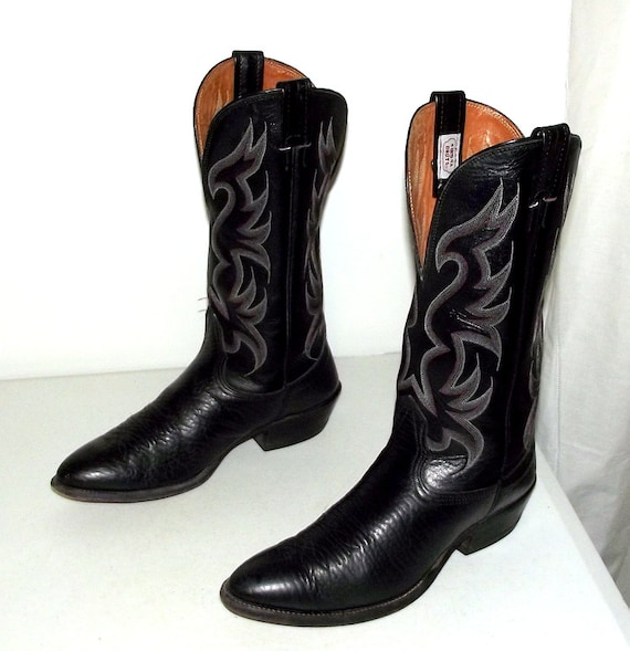 or Nocona boots Black Western size 9 5 Cowboy d size womens 11 brand w4qzqxa6