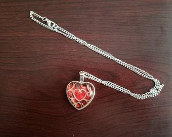 Legend of Zelda Heart Container Necklace Pendant