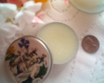 Creme de Menthe Lip Balm, Lip Balms in Tin, Mint Lip Balm, Chapstick, Lip Softening, Natural, Fresh Made