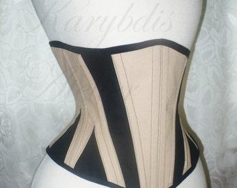 PATTERN short hip underbust with gores victorian edwardian lingerie waist cincher