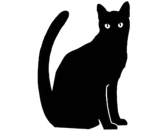 Black Cat - Vinyl Decal