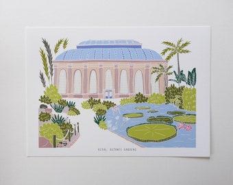 Botanic Gardens Edinburgh Print