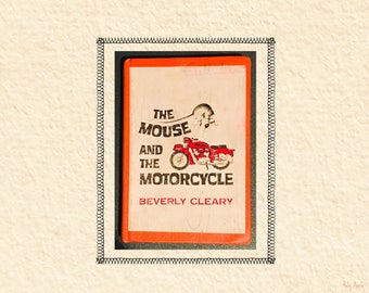 The Mouse and the Motorcycle by Beverly Cleary, Library Edition