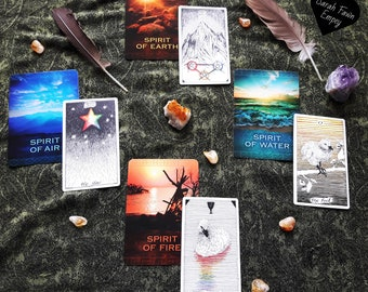 Elements Tarot Reading   General Life Reading Woven Around Your Question With Clarity From The Elements   Witchcraft Tarot Reading