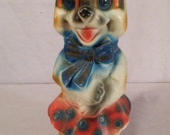 Carnival prize colorful dog