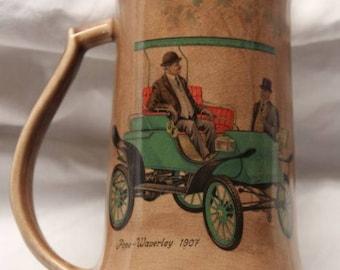 Pope Waverly 1907 automobile mug / stein