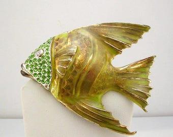 "Vintage Fish Brooch  3"""