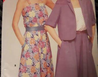 Butterick 5288, Jacket and Sundress Sewing Pattern