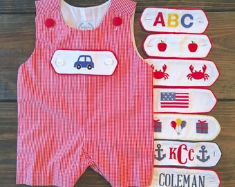 Everyday Red Gingham Shortall