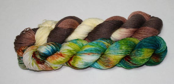 Ready to Ship - The Jedi Were Real?! & Jedi Masters Sock Yarn Set - Tough Sock