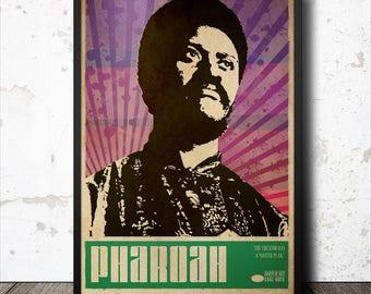 Pharoah Sanders Jazz Poster