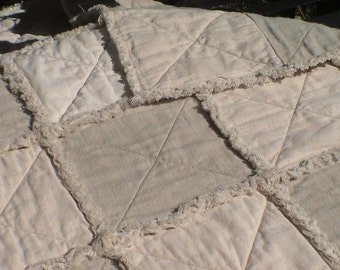 "Baby ""ragtime"" quilt"
