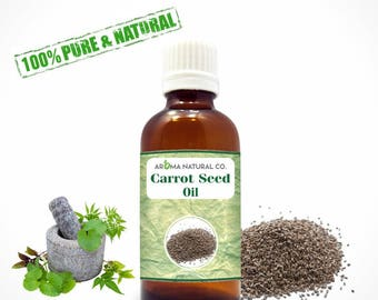 Carrot Seed Essential Oil Pure & Natural For Aromatherapy