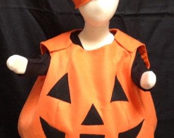 Pumpkin costume, kids costume, halloween costume, baby costume, adult costume