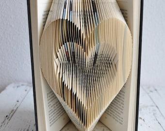 Heart, Heart in Heart, love, wedding, declaration of love, Fidelity, Gift, Jubilee, folded book