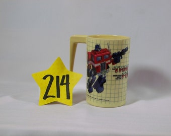 1984 Transformers Cup w/ handle