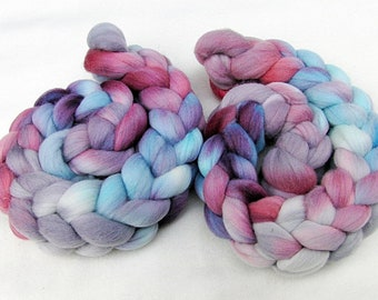 Merino Wool Roving  - Hand Dyed Fiber  5.3 oz.  Nr. 101