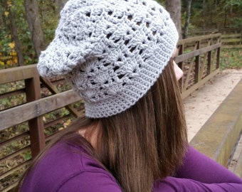 Instant Download- Crochet Pattern- Sarah Slouch