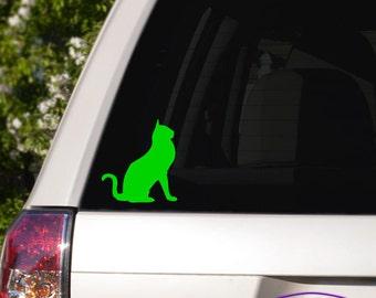 Kitty Cat Car Window Decal