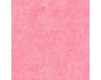 Wilmington Prints Spatter- Bubble Gum Pink, Fabric by the Yard