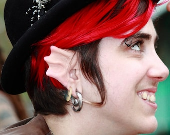 Custom Painted Elf Ear for Mermaid Dragon Troll Siren Costumes and Cosplay