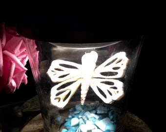 Luminous Butterfly Lighted Table Accent (Embellished)