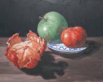 Original oil painting still life X