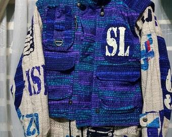 Vintage Mizuno ski jacket Slovenija ski team jacket alpine 90s neon colour