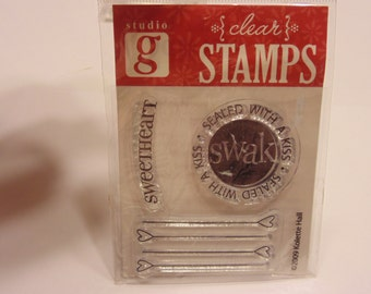 S.W.A.K. clear stamp set, 35-50 mm (A8)