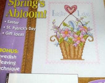 The Cross Stitcher Magazines February & April 2010
