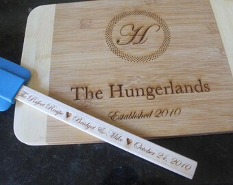 Personalized cutting board, engraved cutting board set, couple gift, wedding gift, wedding present, anniversary present,custom cutting board