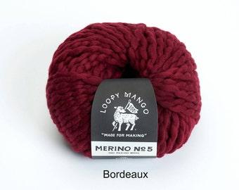 Loopy Mango - Merino No. 5 - Bordeaux
